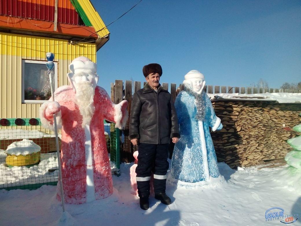 Вот это красота! Житель Аранцехоя Анатолий Андреев построил чудо-городок