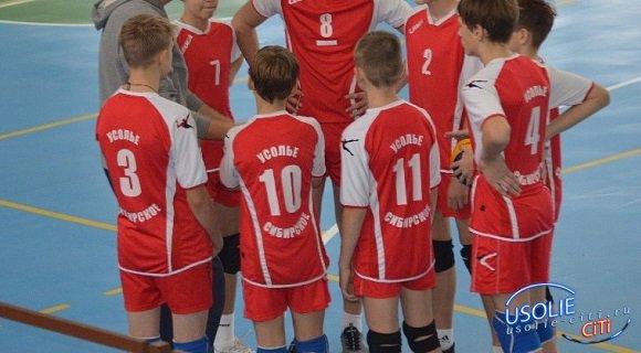 Усольские волейболисты одержали большую победу.  Григорий Губин признан лучшим