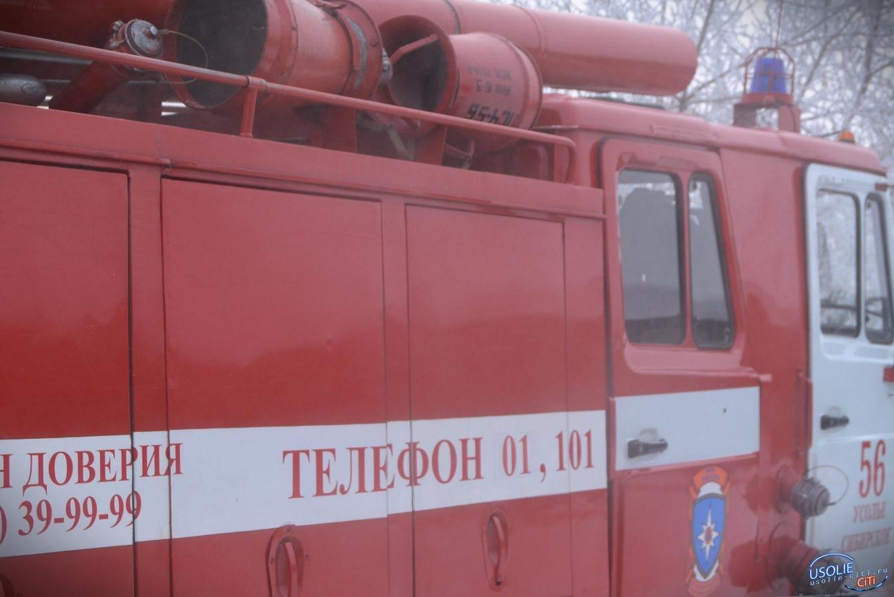 В Усолье сгорел жилой дом