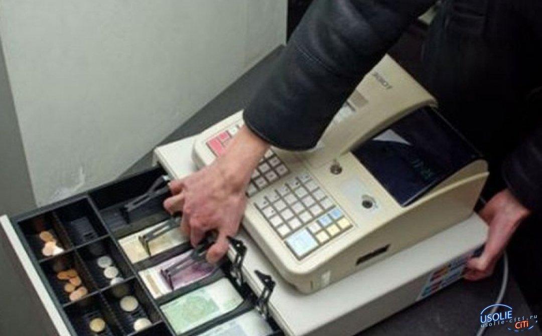 Усольчанин пытался совершить грабеж в магазине в районе Загородной на улице Стопани