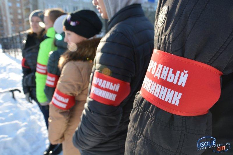 На улицы Усолья выйдет добровольная народная дружина