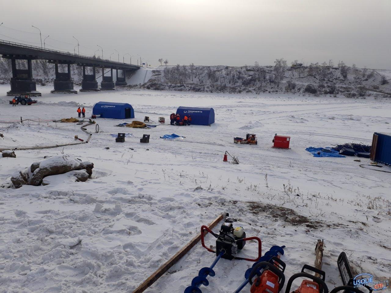В самый холодный февральский день в Усолье разлилась нефть