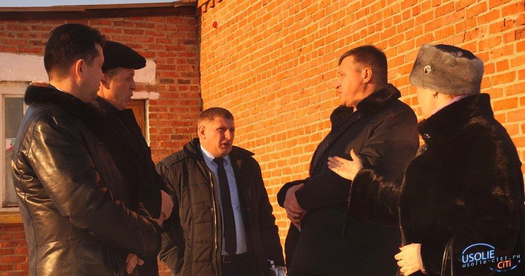 Мэр Усольского района встретился с жителями Большой Елани, Целот,  Большежилкина