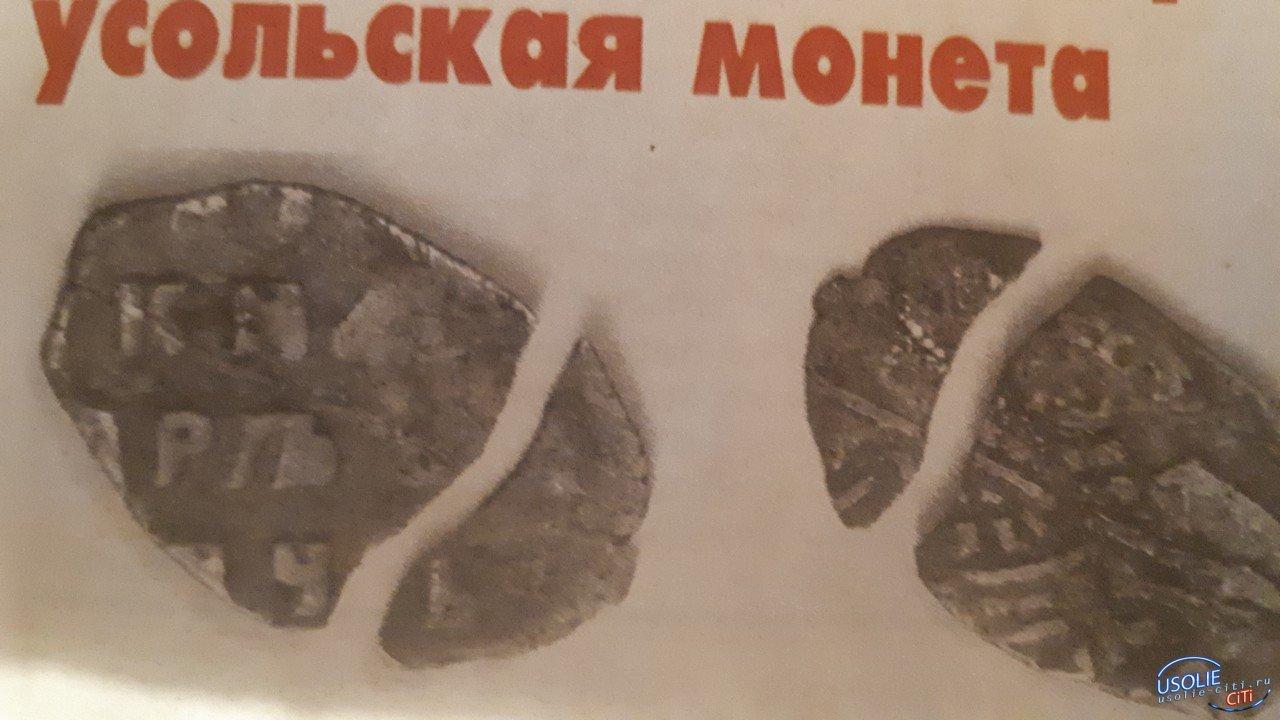 На Красном острове найдена самая старая усольская монета