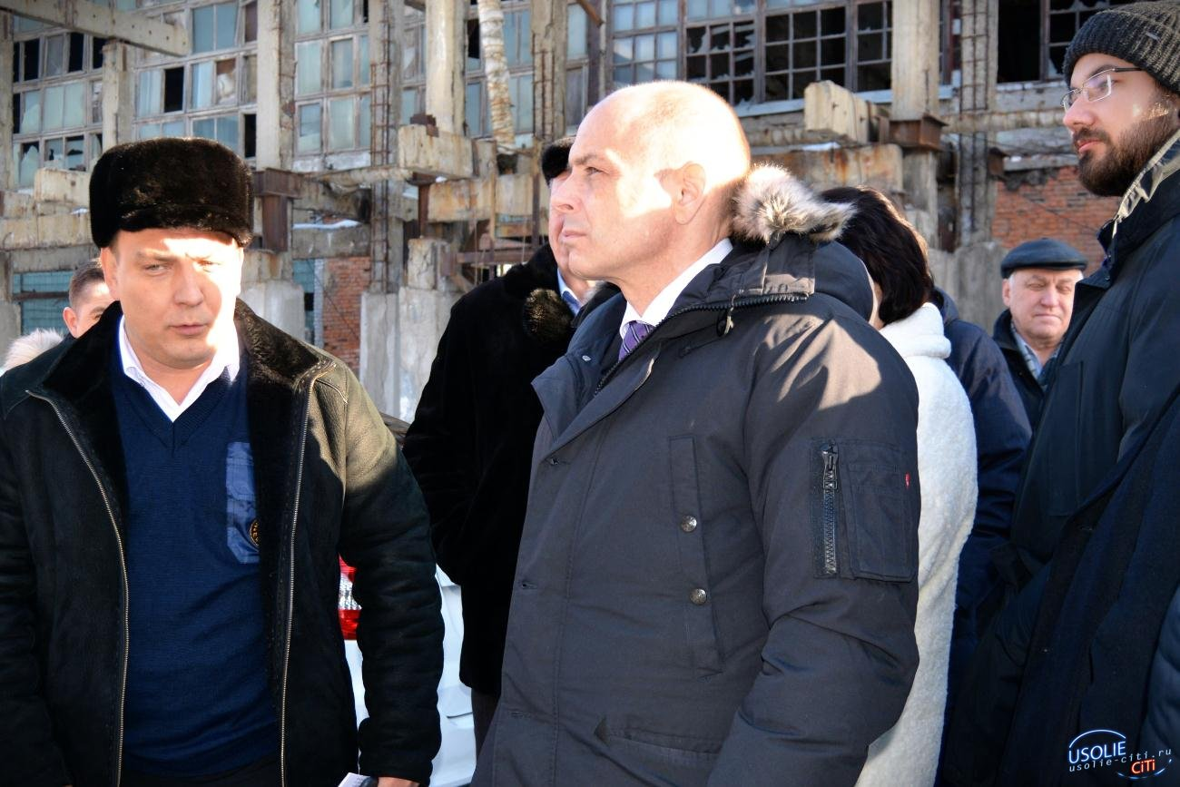 Большая делегация Заксобрания прибыла в Усолье решать проблему Химпрома