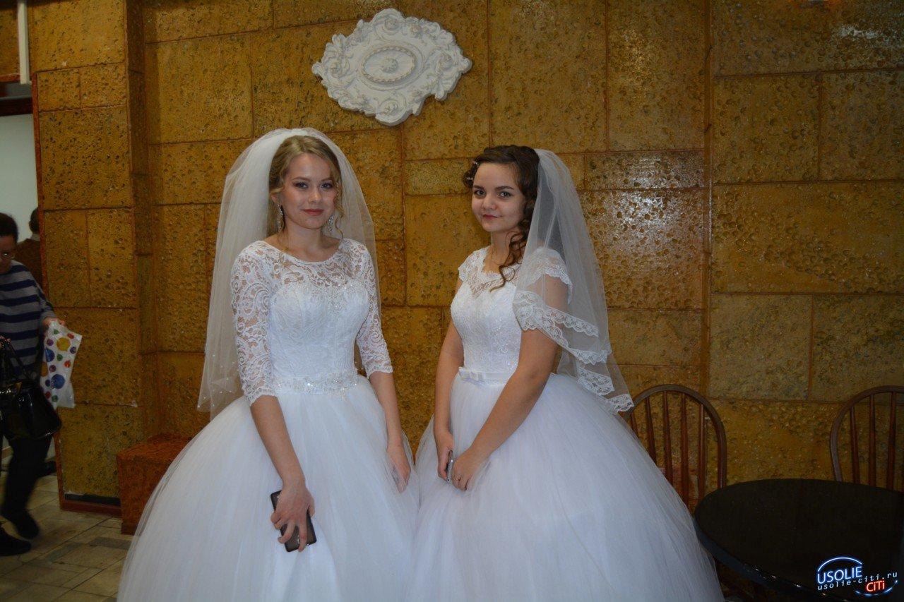 Красивые свадебные платья в Усолье по доступным ценам.