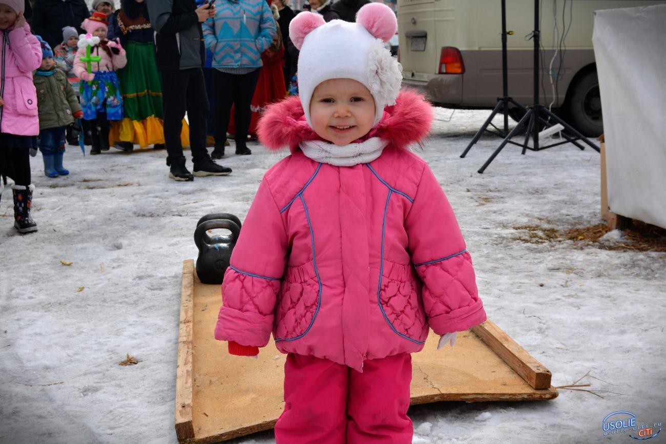 Масленица, блин! Усольчане весело попрощались с зимой