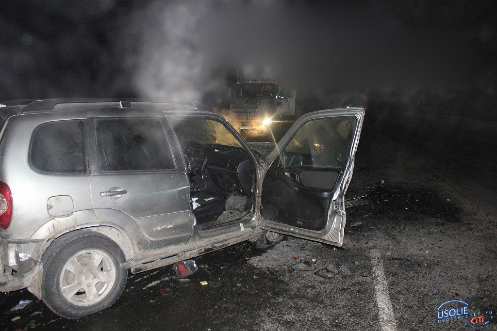 В Усольском районе опрокинулась Нива: есть пострадавшие