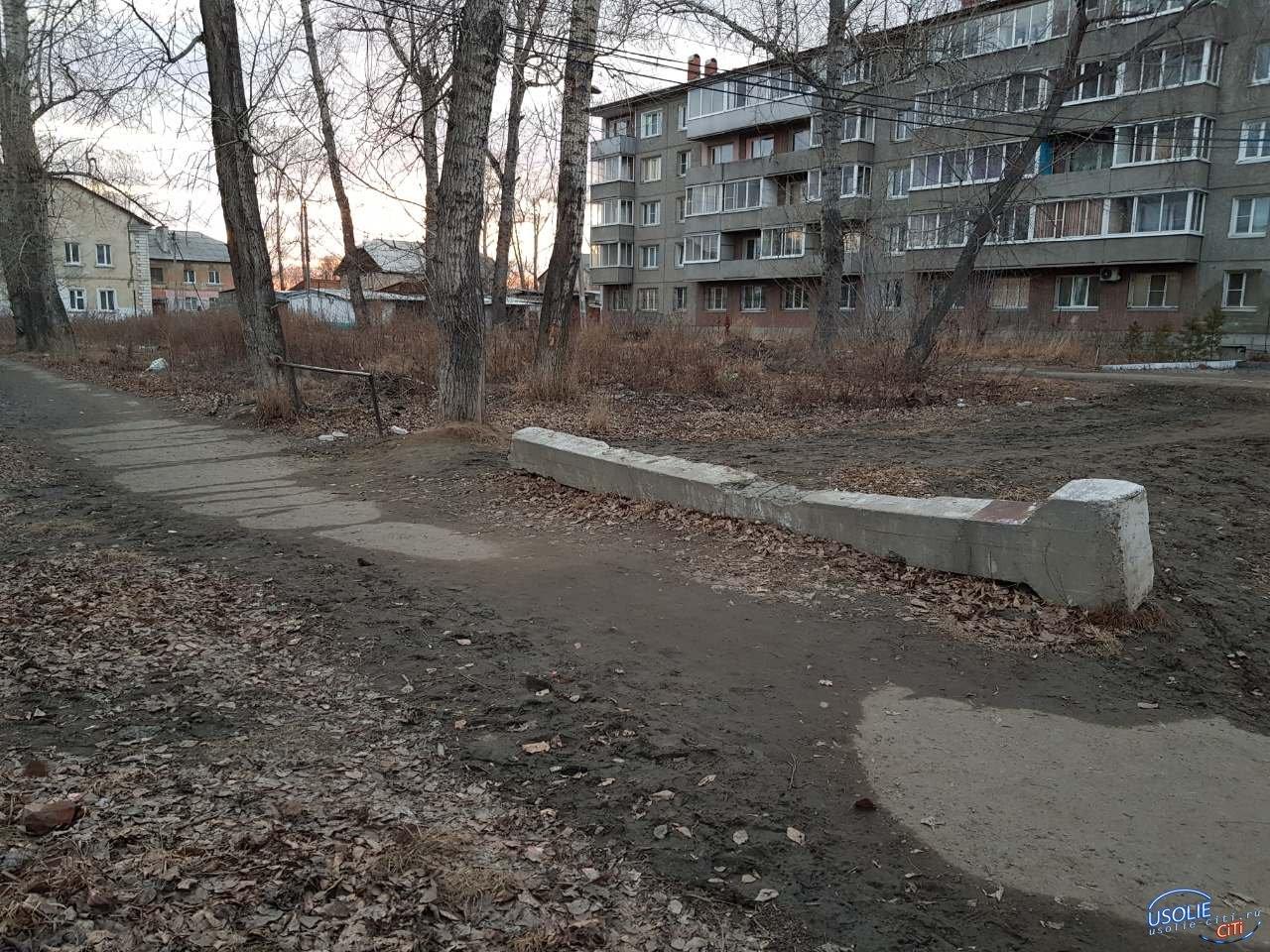 Усольские дворы очистят от строительного мусора