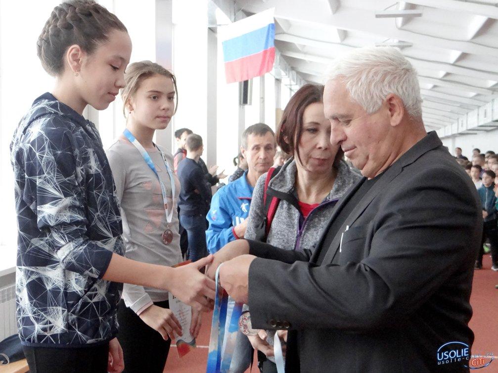 Семеро усольских легкоатлетов завоевали золотые медали