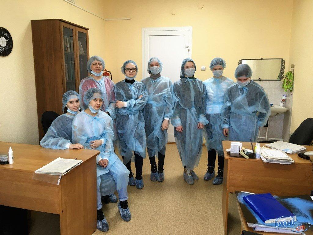 Усольские гимназисты познакомились с профессией врача