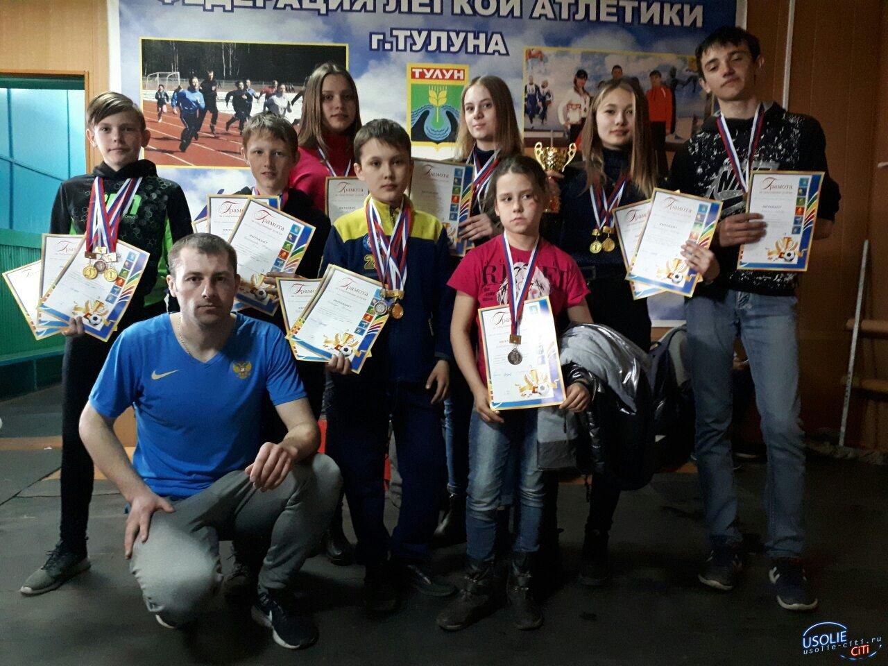 Легкоатлеты и дзюдоисты Усольского района привезли медали