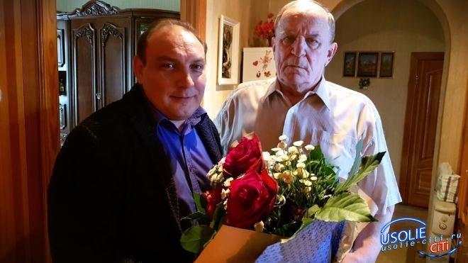 Почетный гражданин Усолья Леонид Иванов отметил 75-летие