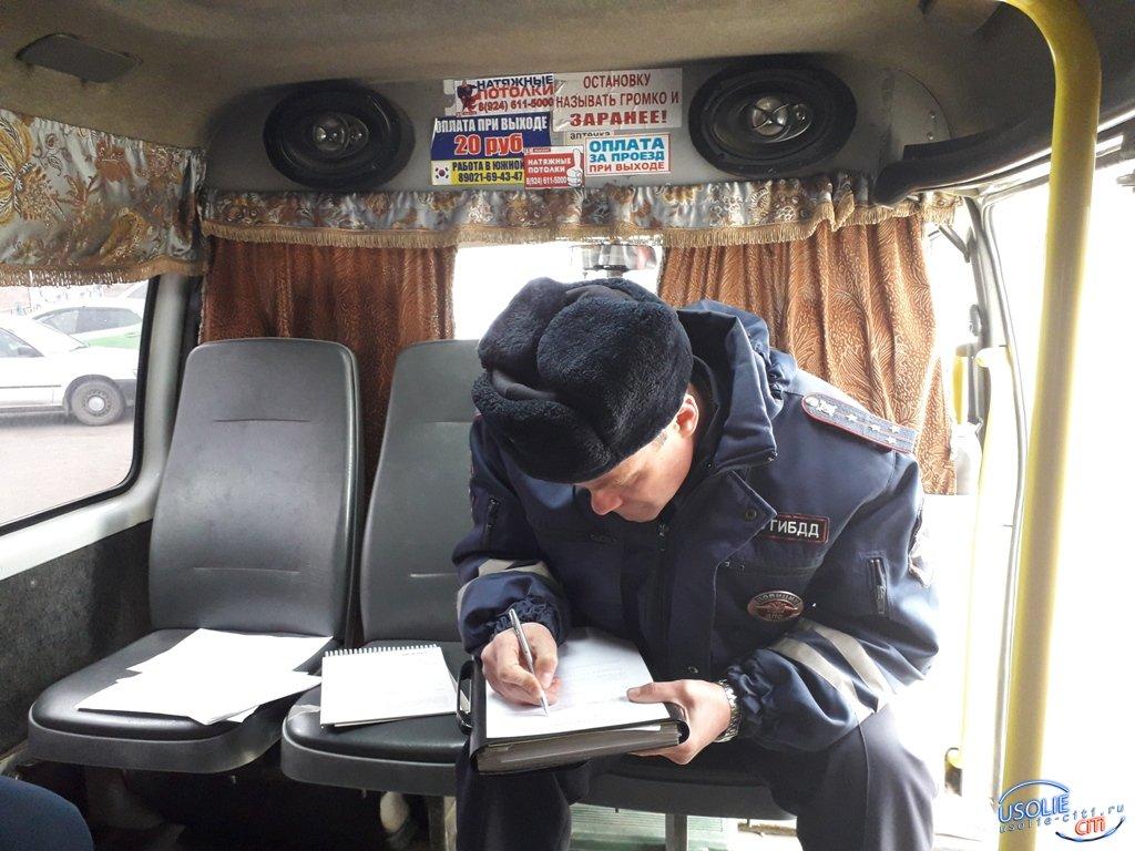 Ангарчанин в Усолье нелегально подрабатывал маршрутчиком