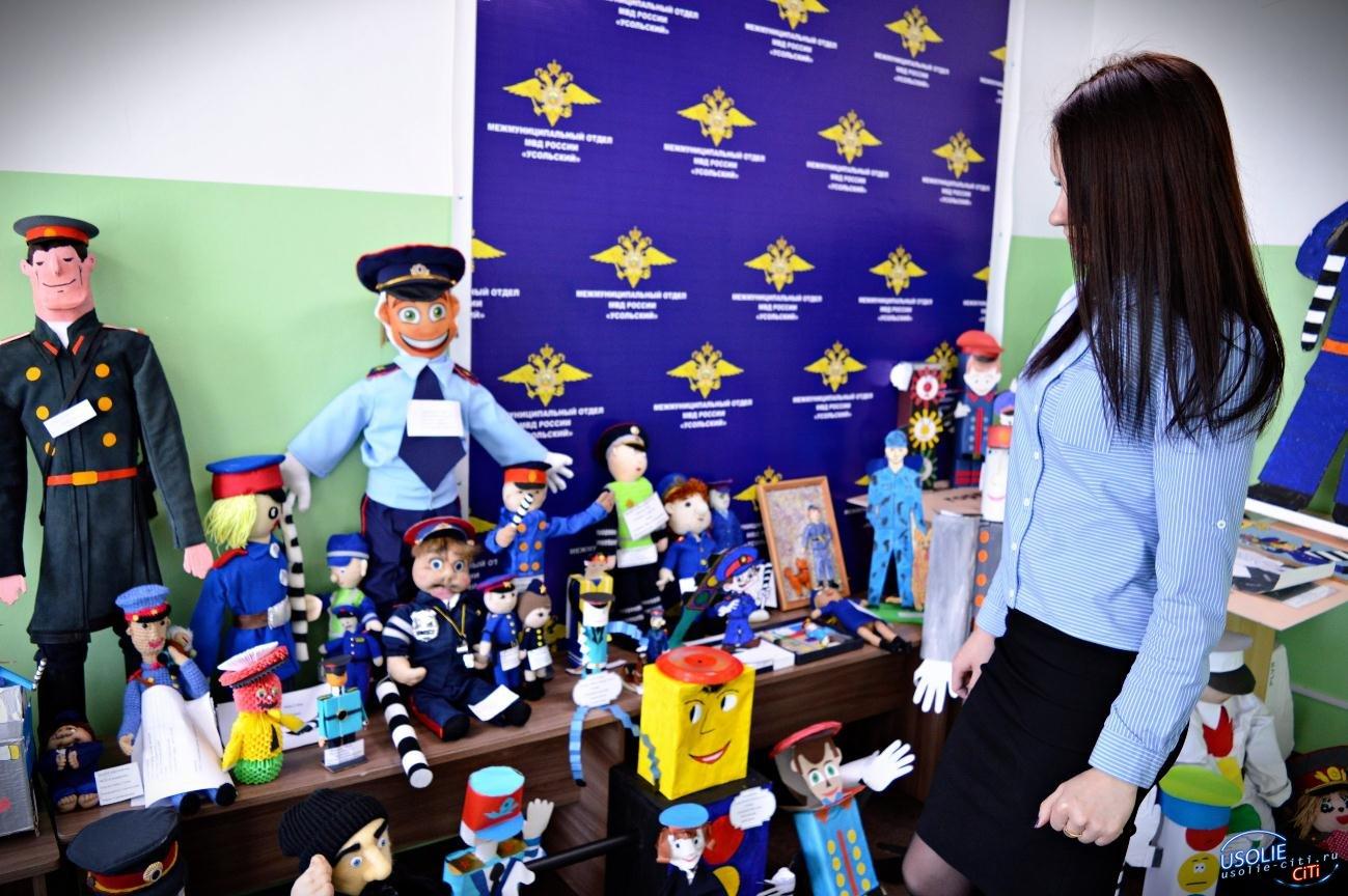 В Усолье подведены итоги местного этапа конкурса игрушек «Полицейский дядя Степа»