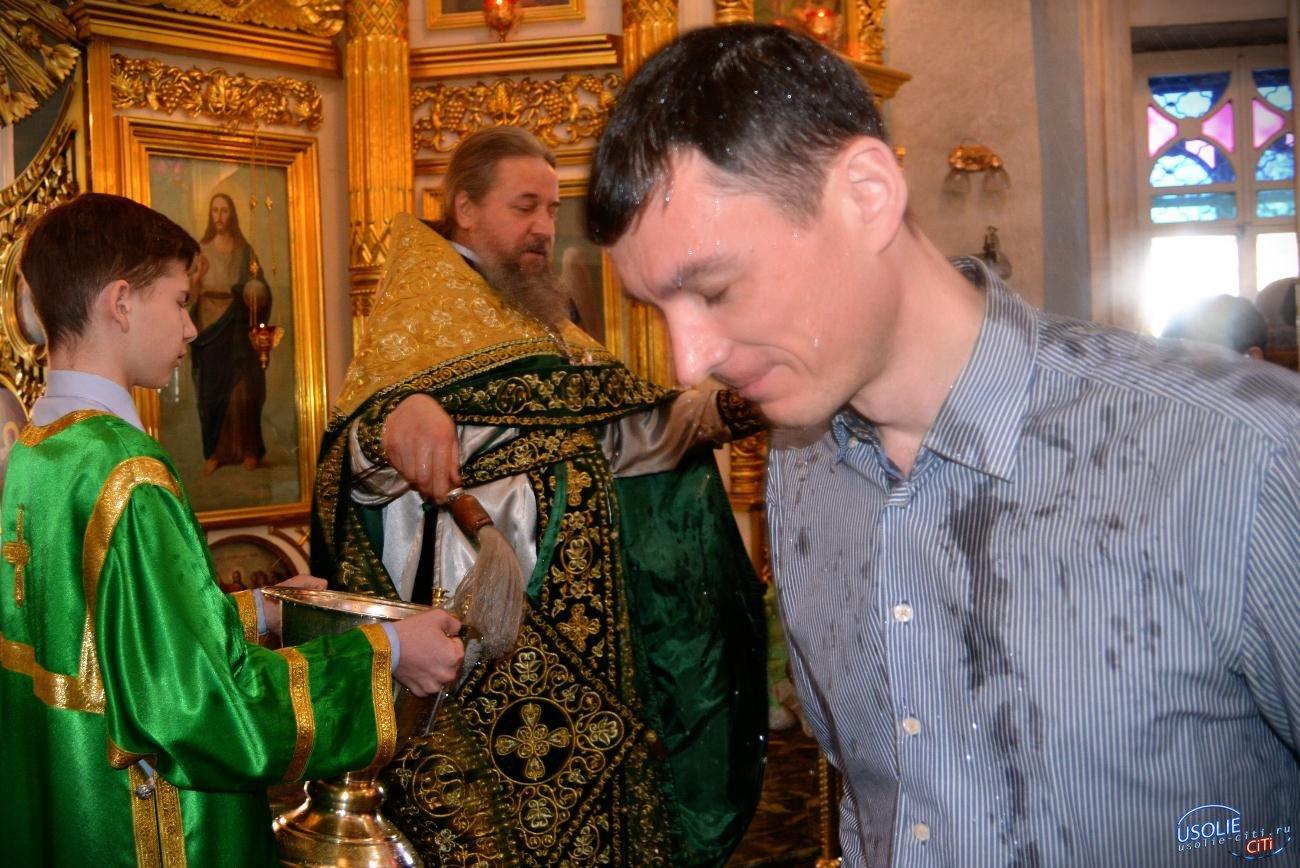 Усольчане встречают Вербное воскресенье