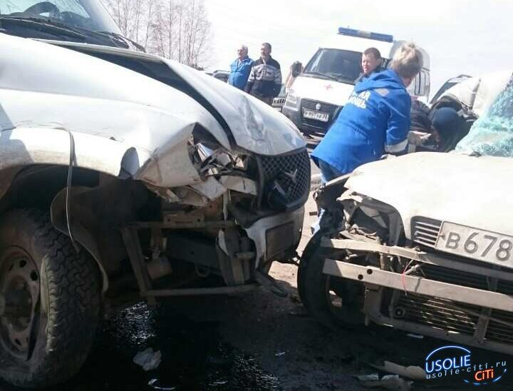 Страшная авария под Белореченском.  Годовалый ребенок в тяжелом состоянии