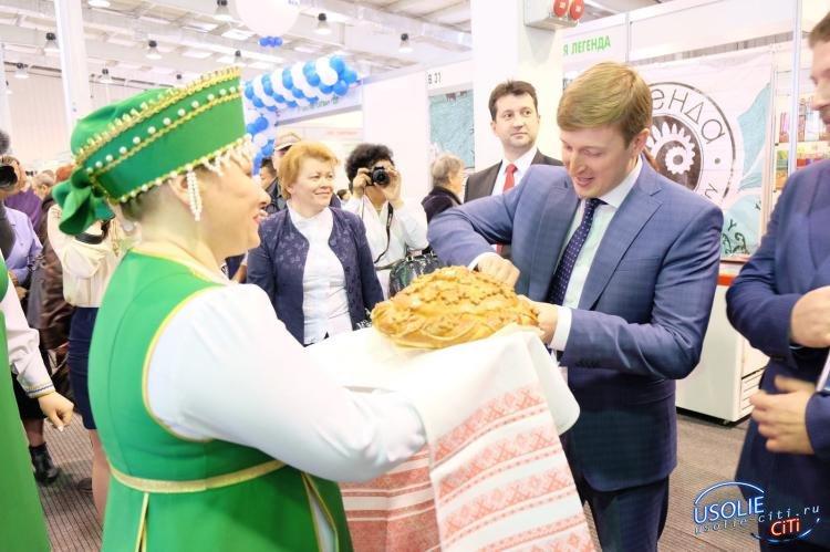 Мэр Усольского района посетил  выставку «Сибпродовольствие»-2019