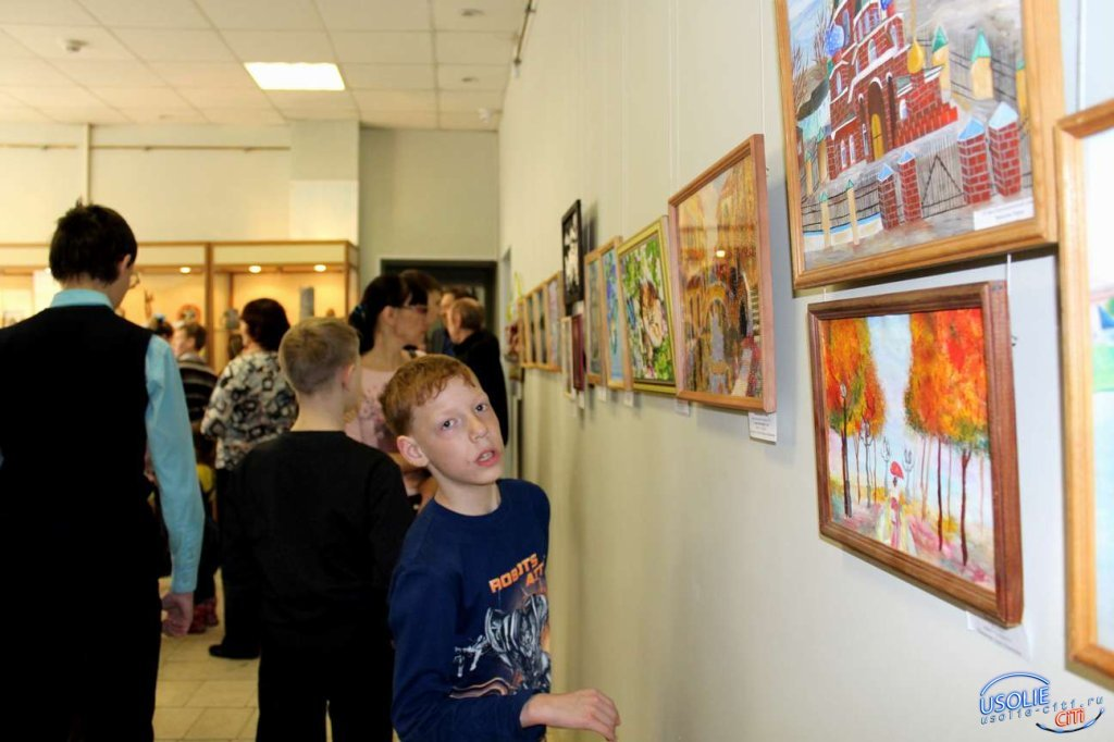 В усольском музее открылась выставка