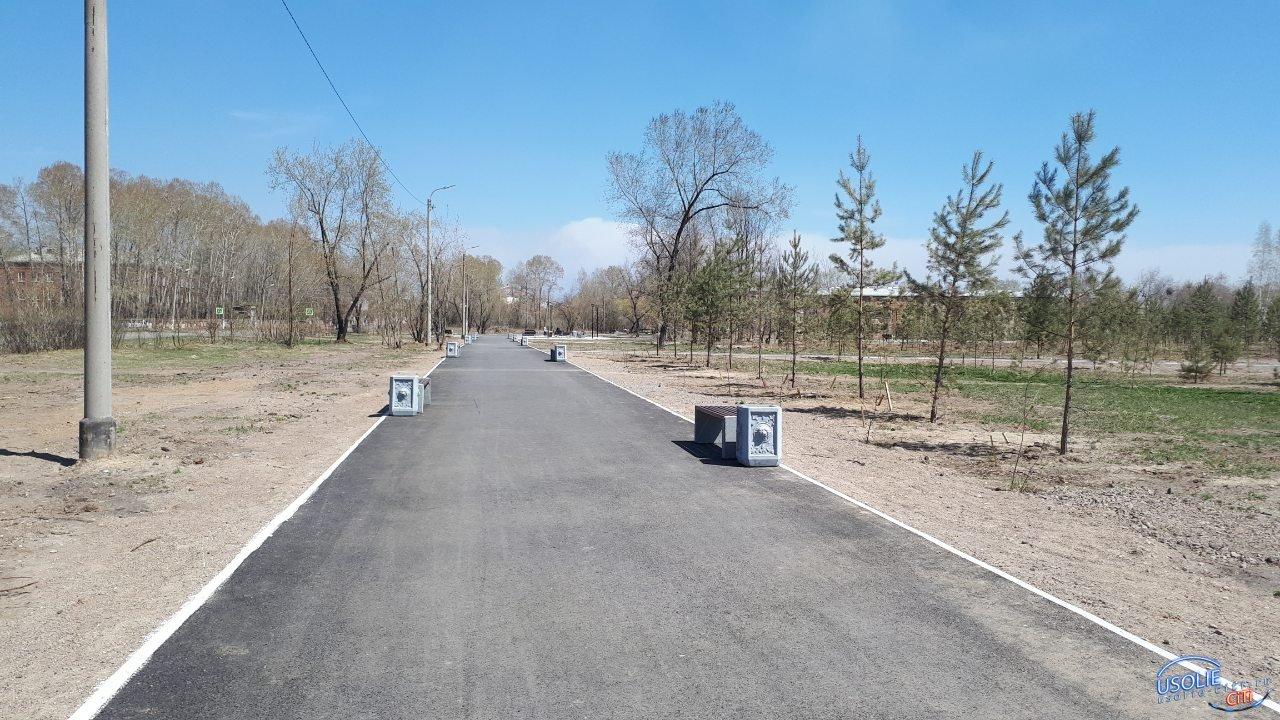 В нижнем парке усольчане пытались украсть лавочку