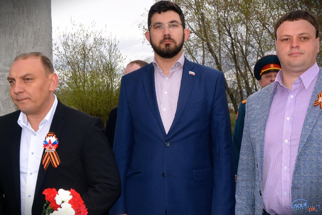 Митинг Победы: Усольчане вспомнили героев войны. ВИДЕО