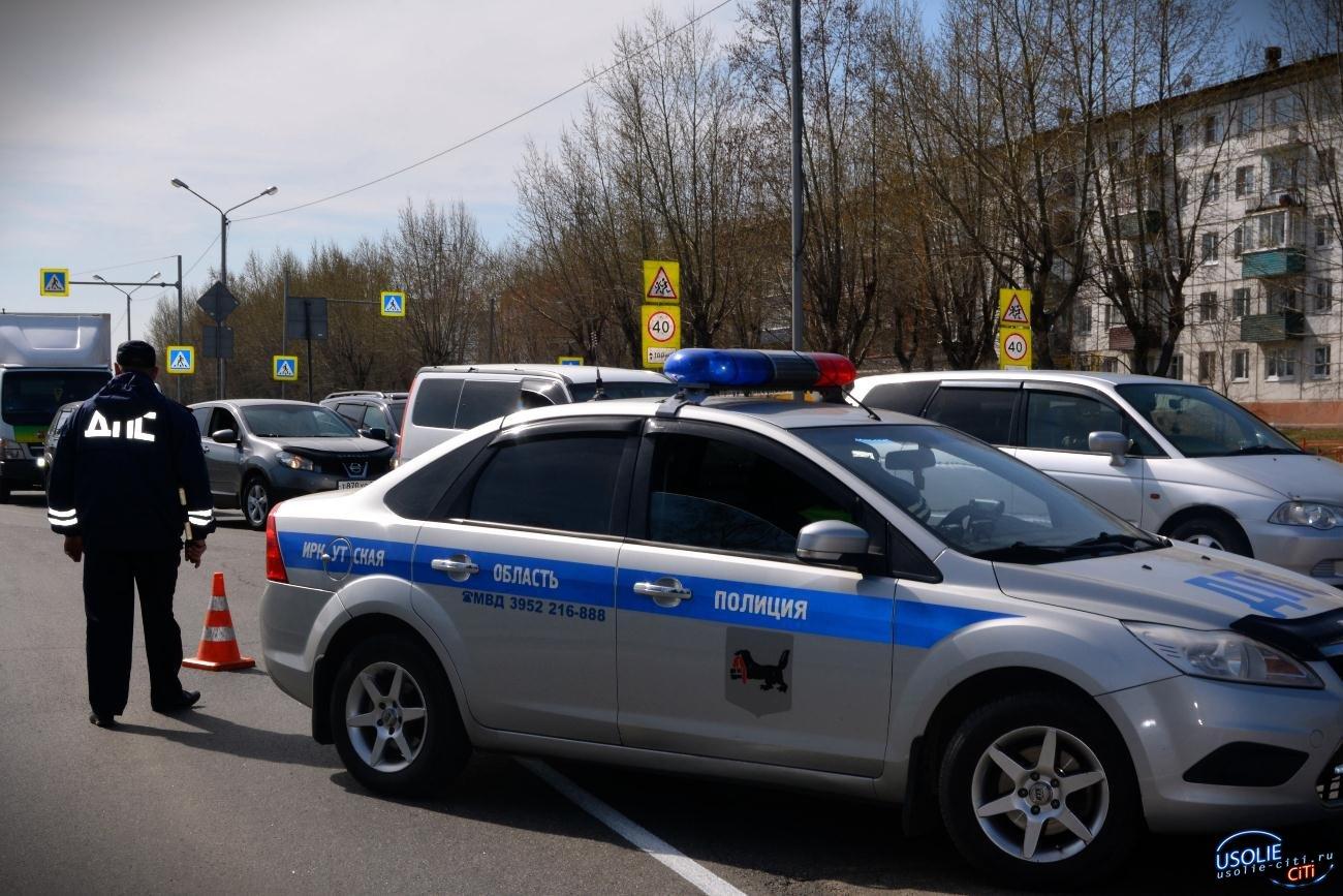 Усольчане на утилизированной машине удирали от полиции и перевернулись