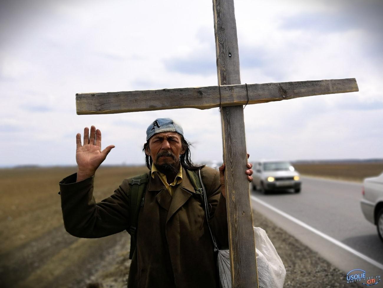 Монах Михаил Смирнов: Бог меня послал тушить пожары в Иркутской области