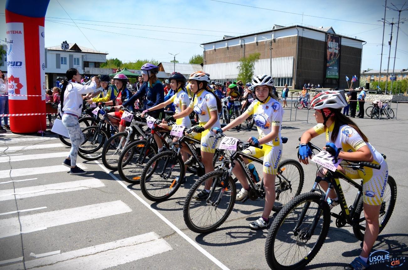 В Усолье состоялся спортивный праздник «Всероссийский день велосипедиста»