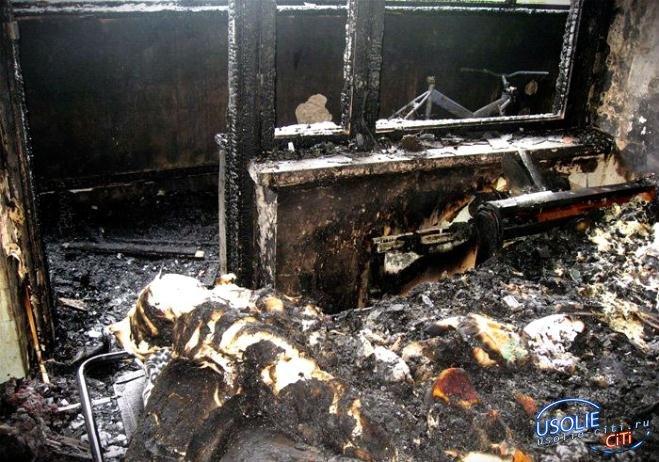 Усольчанин спалил арендованную квартиру