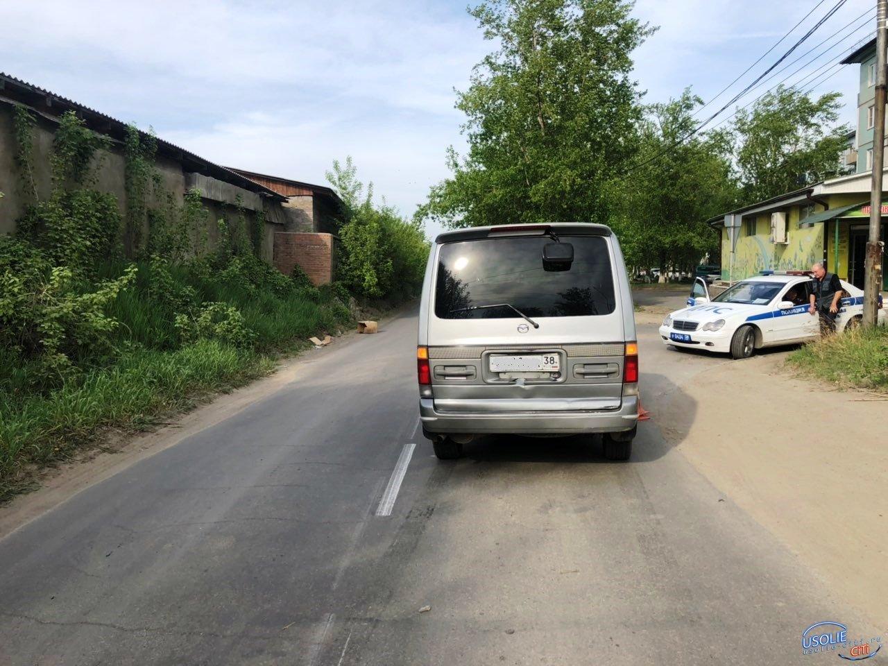 В Усолье восьмилетний мальчик попал под колеса микроавтобуса
