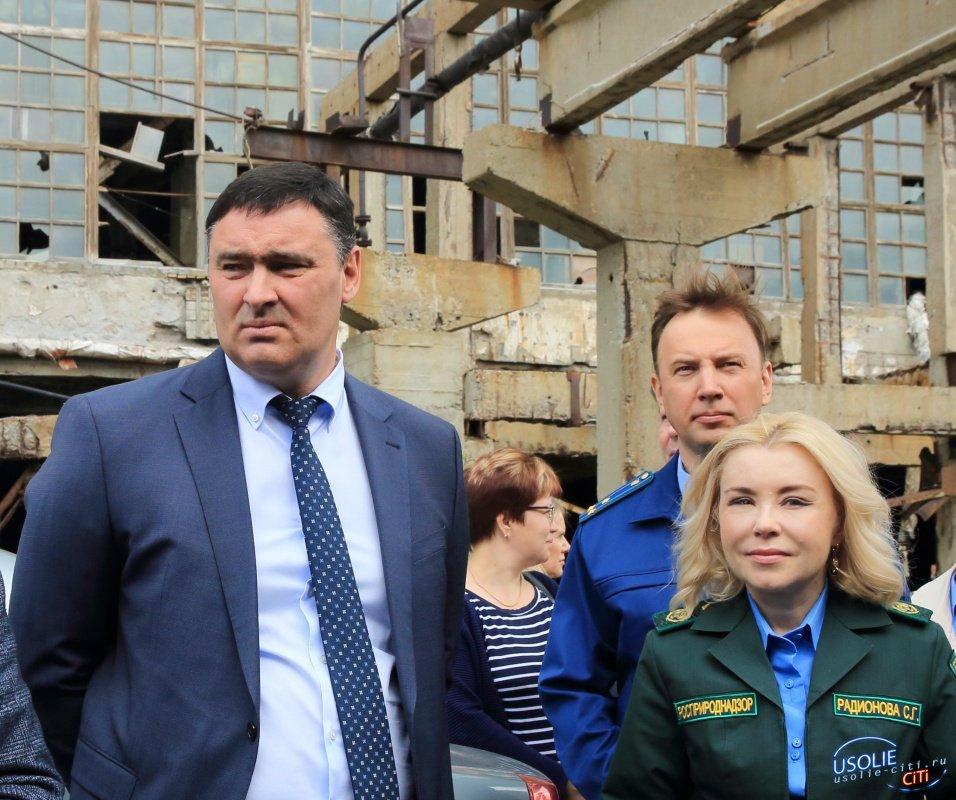 Ключевая задача по «Усольехимпрому» - включить мероприятия по ликвидации  ртутного цеха в нацпроект «Экология»