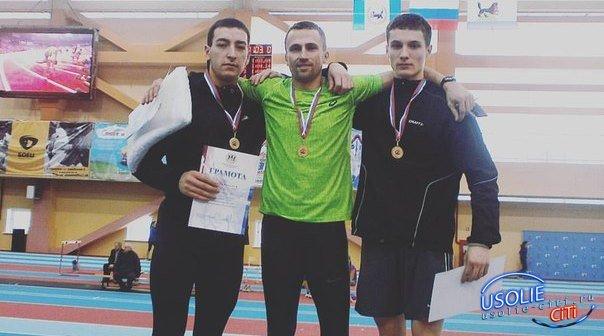 Усольский легкоатлет Тимур Идрисов обновил рекорд области