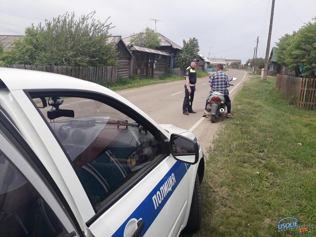 В Усолье поймали 42 пьяных мотоциклиста