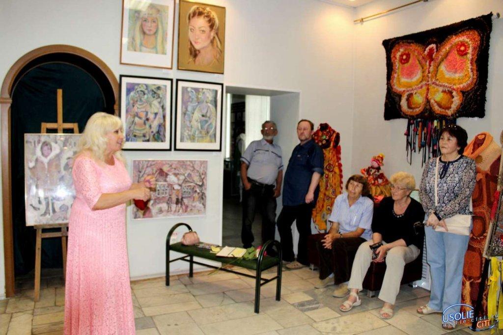 Праздник Ирины Быргазовой в усольском музее в честь юбилей города