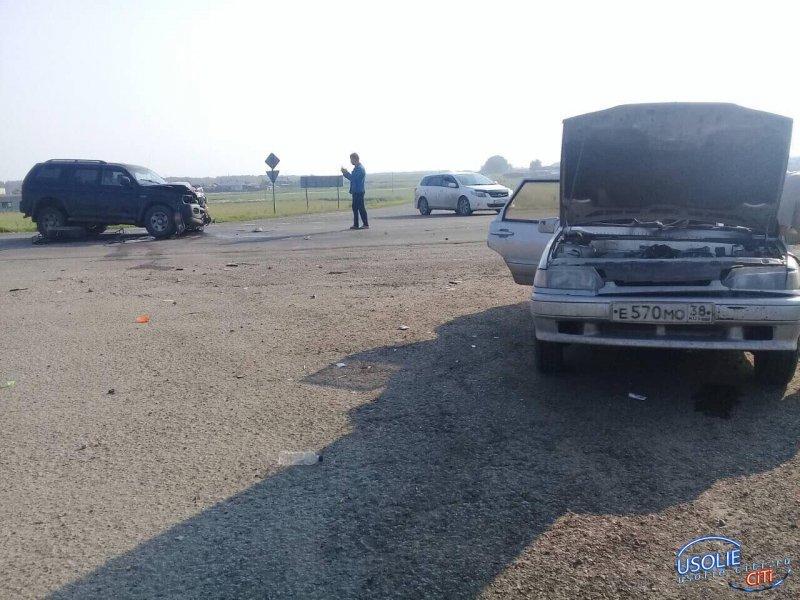 Несколько человек пострадали при ДТП в Усольском районе