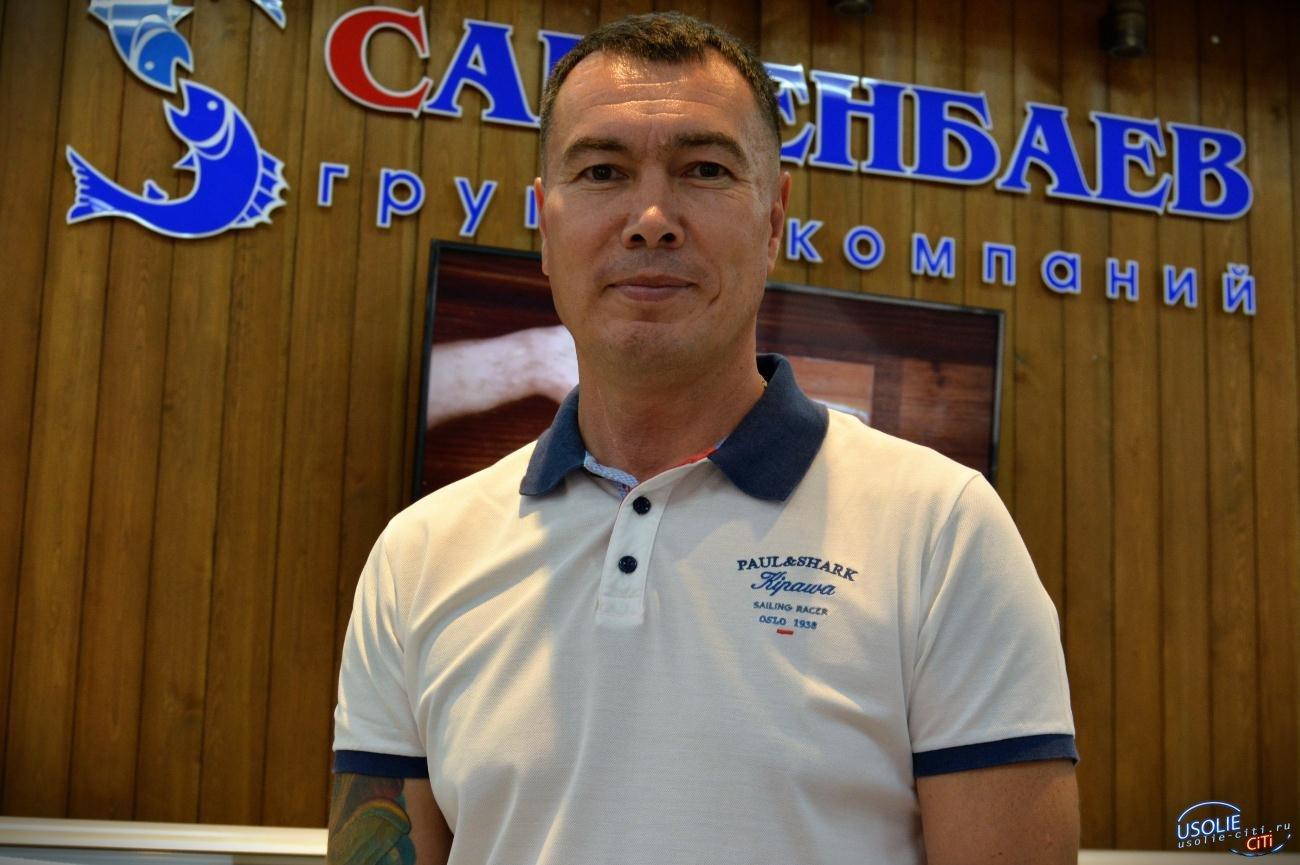 Евгений Сарсенбаев установит в Усолье 20-ти метровую скамейку