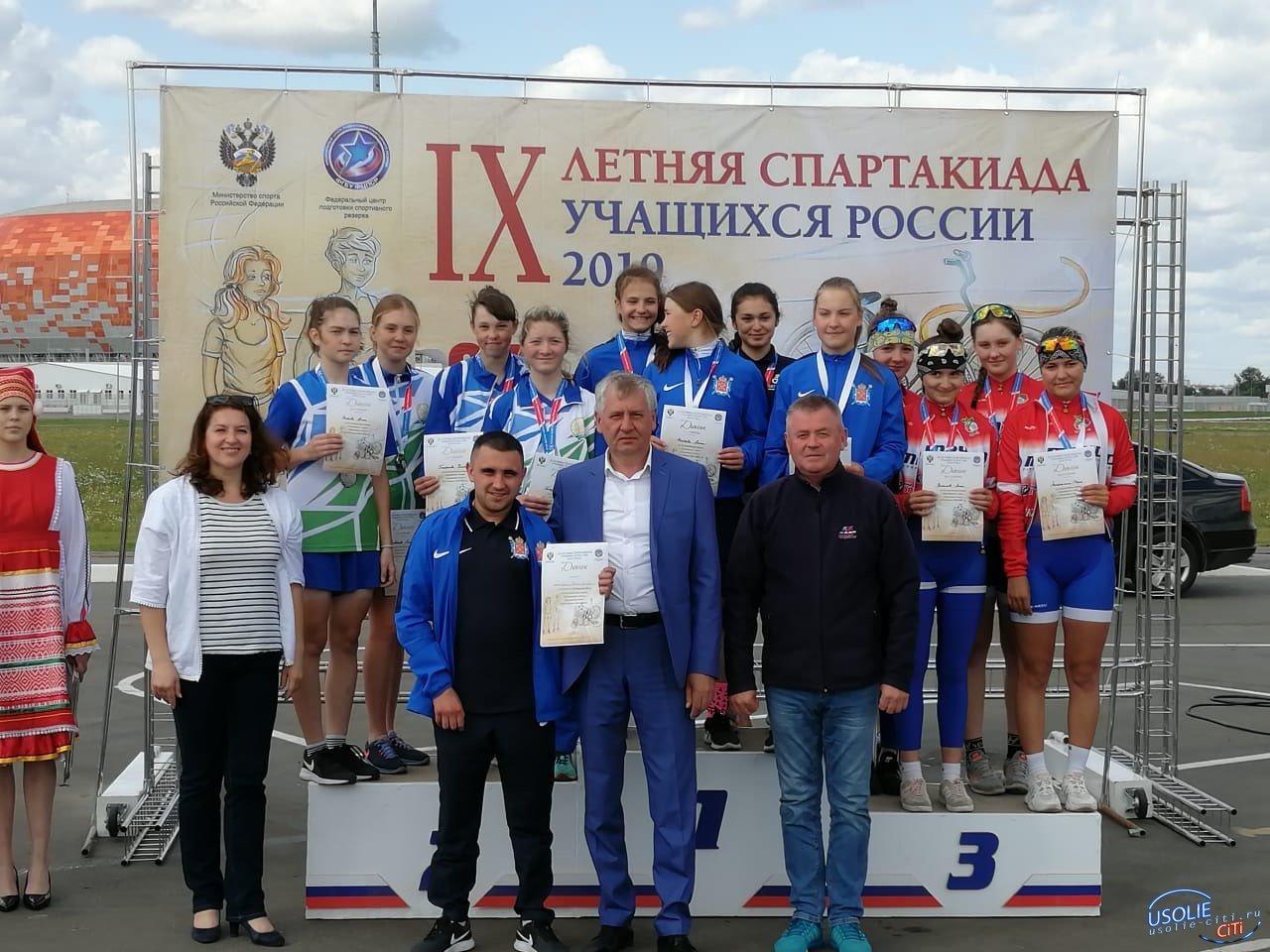 Усольские велогонщицы вывели областную команду вперед