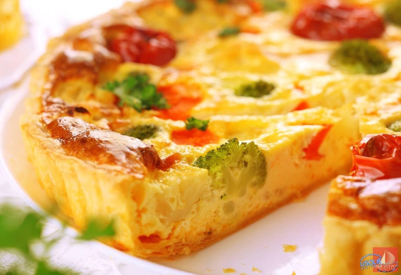 Вита-Усолье:  Сегодня в меню томатный пирог со сметанным мороженым!
