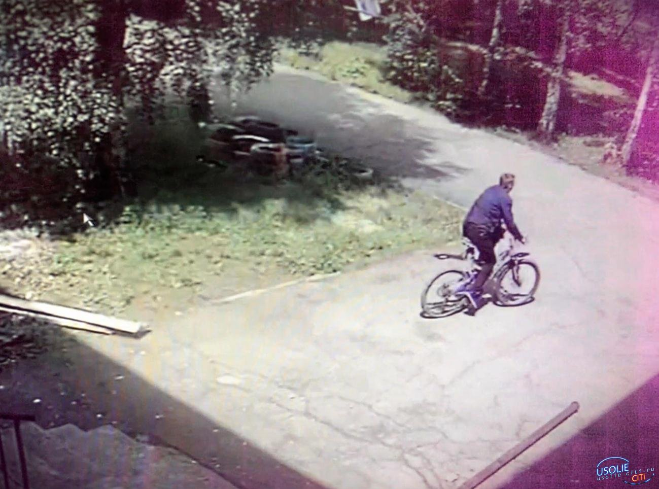 В Усолье украли велосипед с территории детсада по Толбухина
