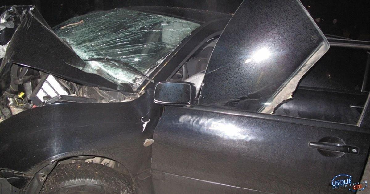 Пьяный житель Усольского района на чужой машине угодил в забор