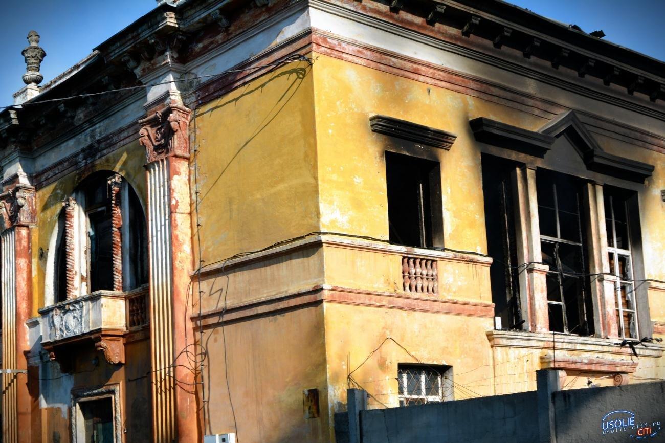 Китайцы спалили в Усолье дом культуры