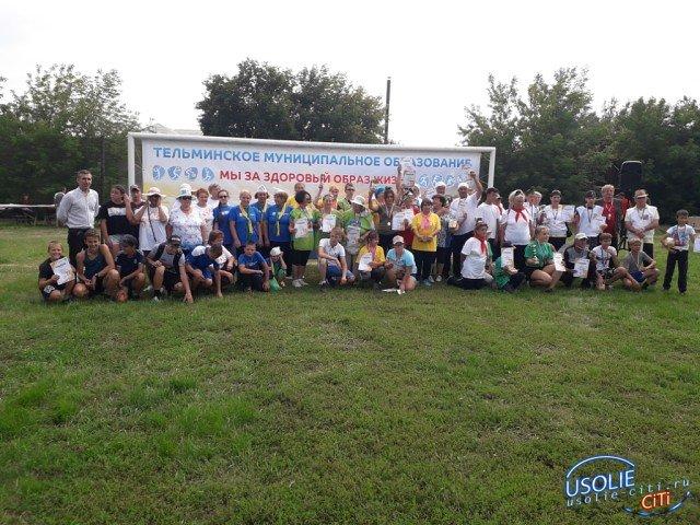 Усольская связь поколений: В Тельме вместе через спорт