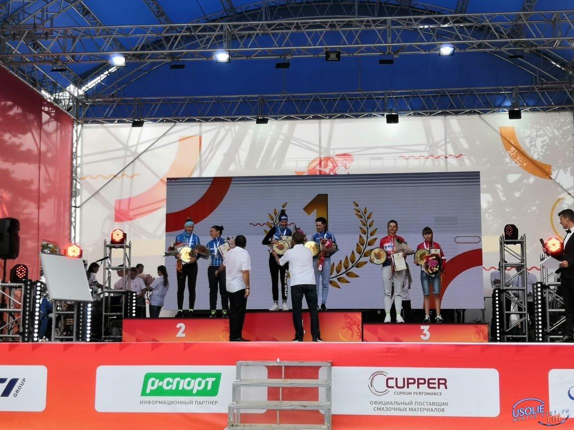 Усольчанка стала бронзовой призеркой первенства России
