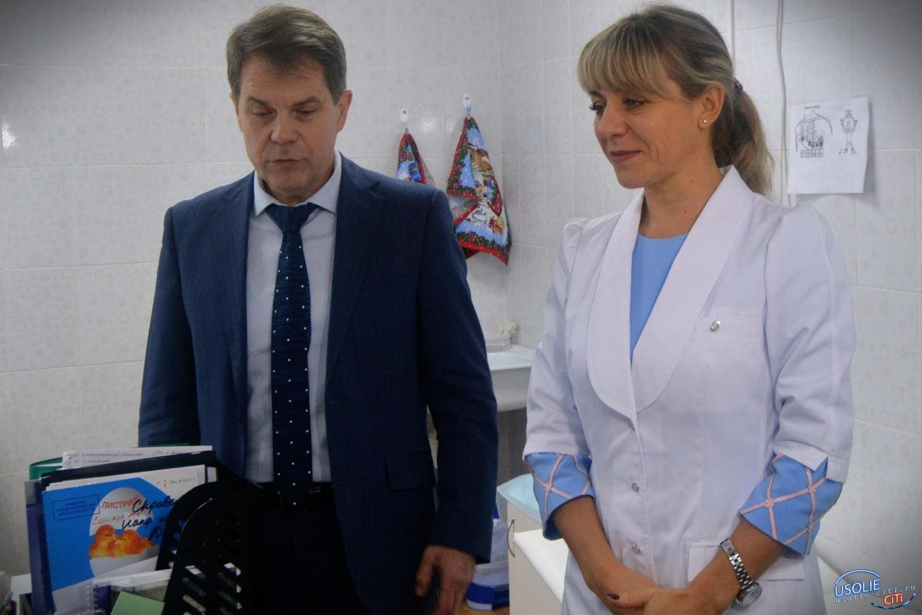 В Усолье стартовала прививочная кампания