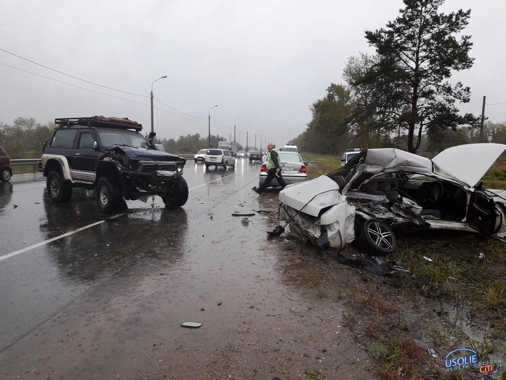 Непогода: Усолье в пробках, ДТП, гибель человека