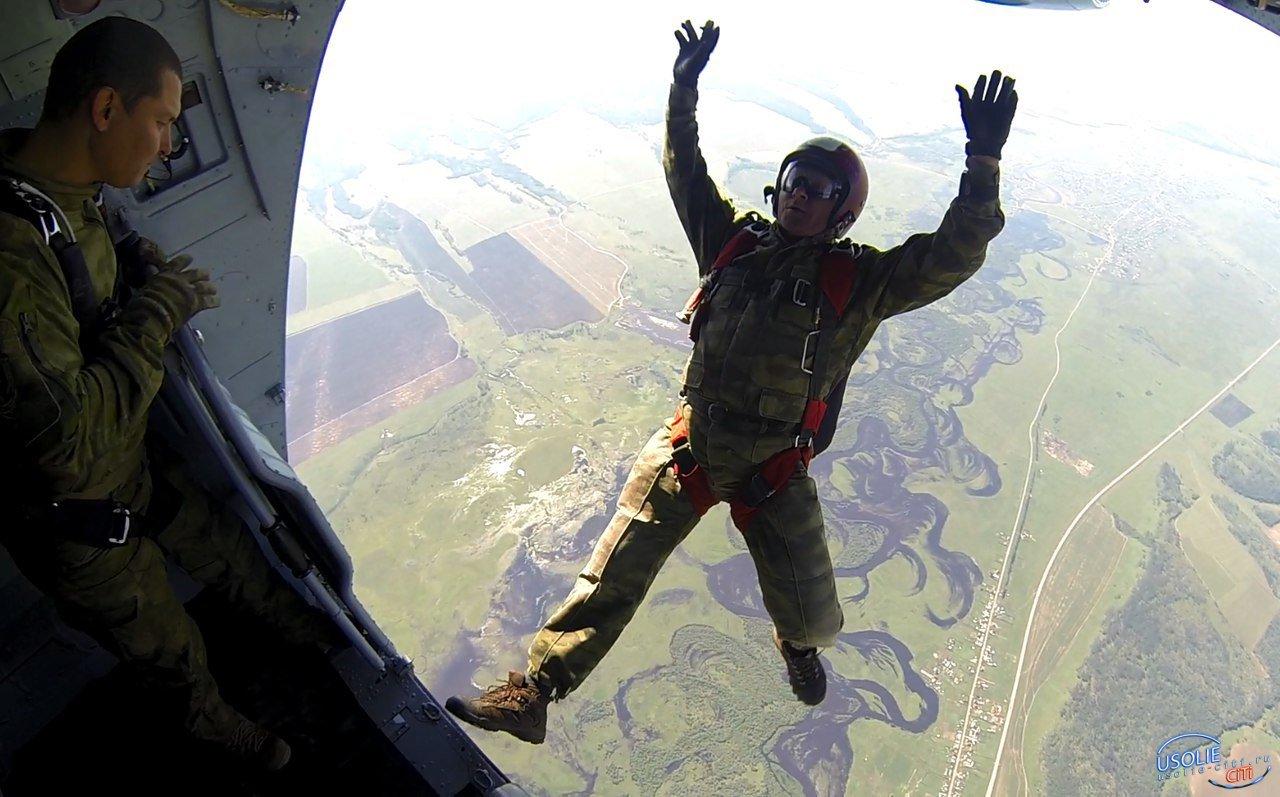 Усольские кадеты готовы к прыжкам с парашютом