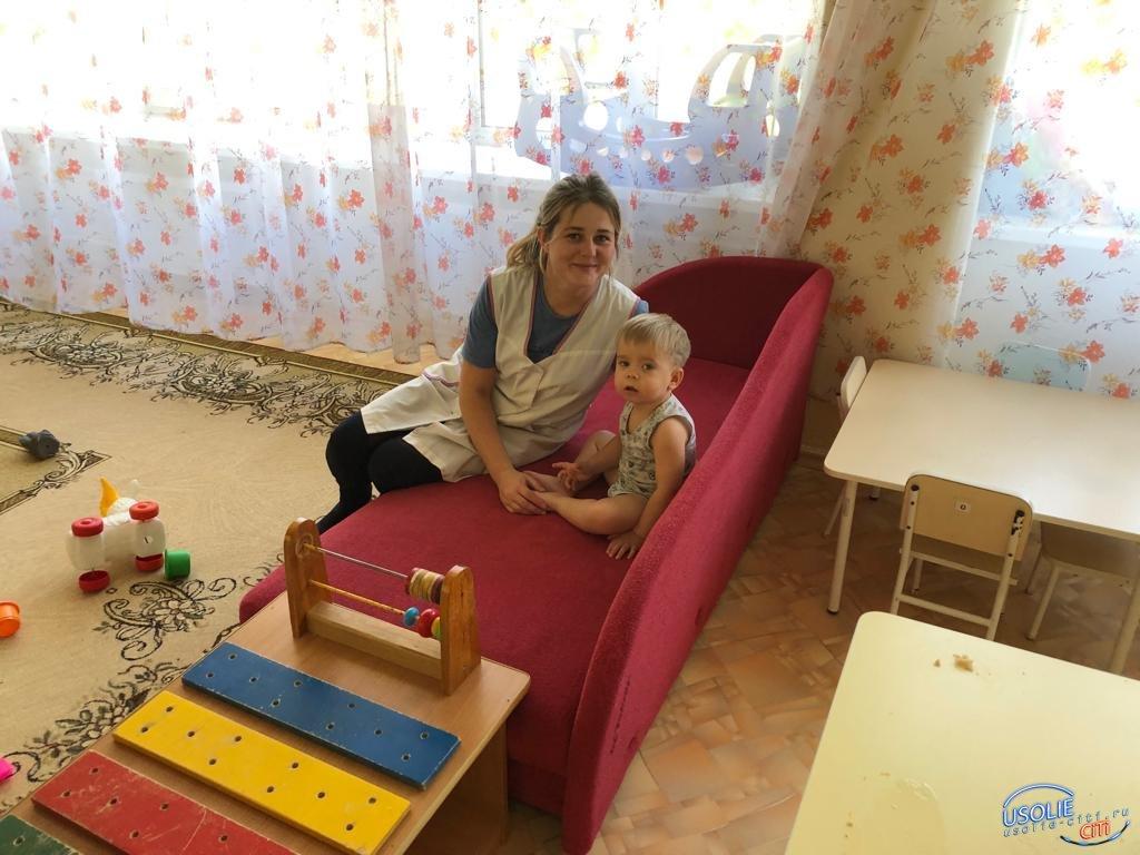 Ко Дню воспитателя:Татьяна Протопопова - самый молодой, но опытный педагог в Усолье