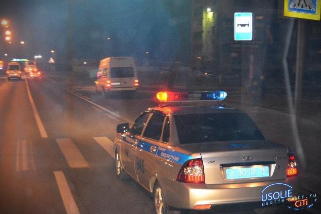 В Усольском районе наркодилеры устроили погоню с полицейскими