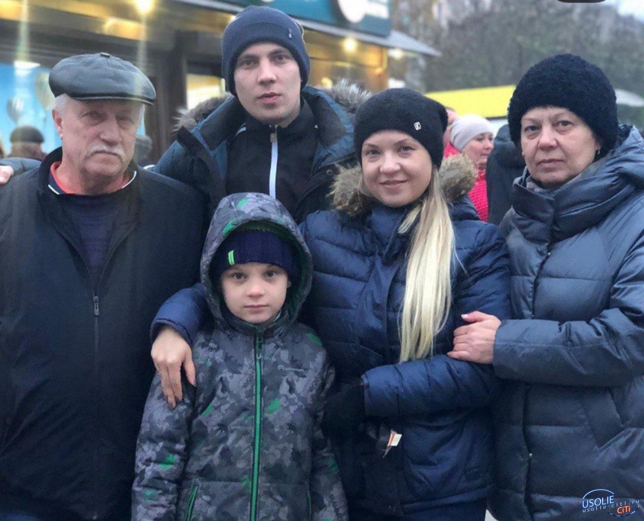 Усольская семья Торопкиных проводила в армию родного человека