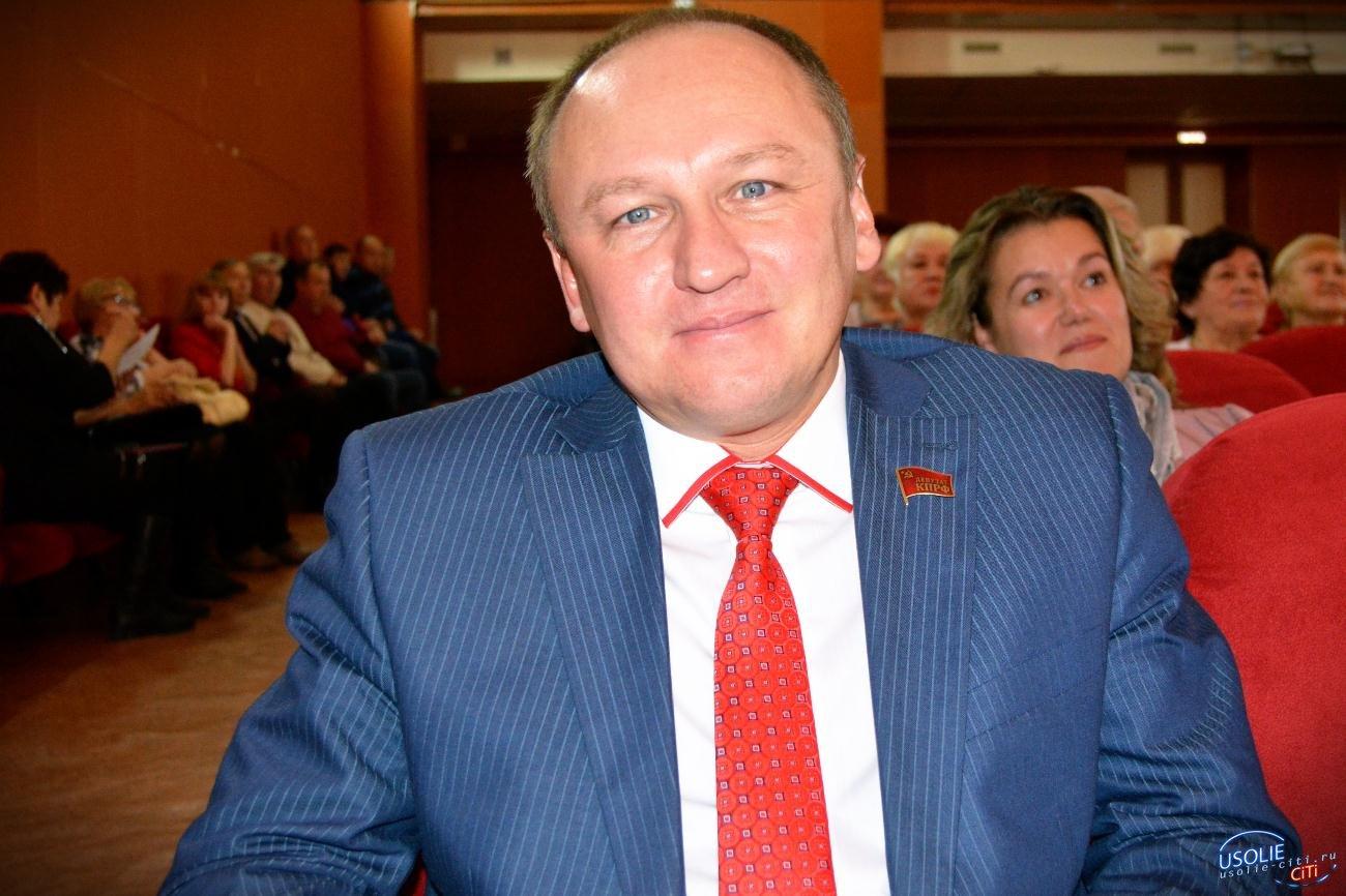 Роман Габов в Усолье поздравил комсомольцев